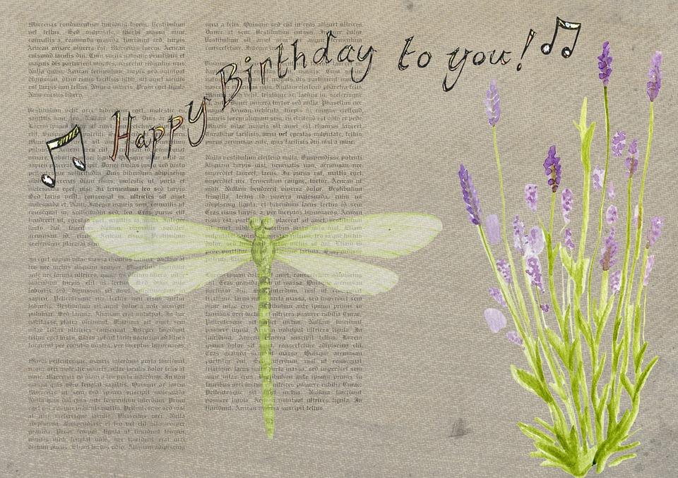 Card Birthday Happy Free Image On Pixabay
