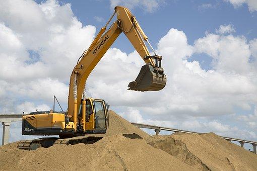 Power Shovel Excavation