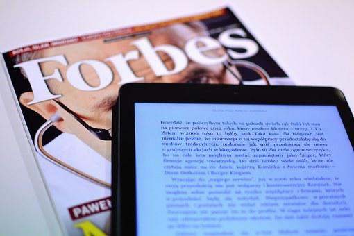 Forbes, Magazine, Reading, Business