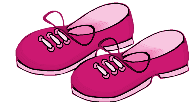 Pink, Girl, Shoes, Kids, Footwear