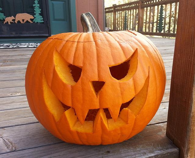 Carved Pumpkin October Halloween Free Photo On Pixabay
