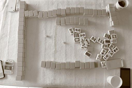 An image of Mahjong.