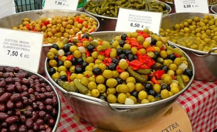 Olives, Market, Drupes, Mediterranean, Vegan Myths