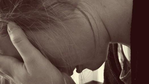 Donna, Disperata, Triste, Pianto, Grido, Depressione, consapevolezza