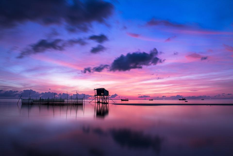 Free Photo Sunrise Phu Quoc Island Ocean Free Image