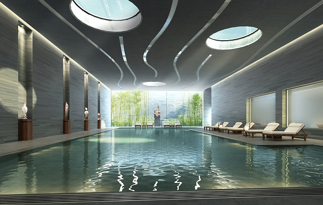 Interior Swimming Pool Rendering Free Photo On Pixabay