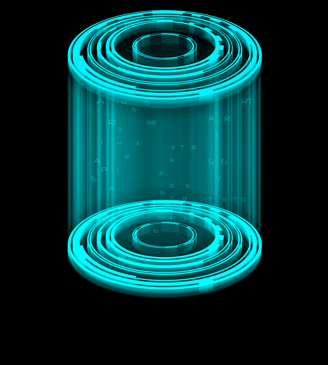 Cage Holography Cylinder 183 Free Image On Pixabay
