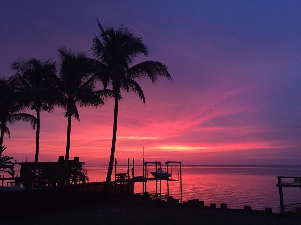 Sunset Florida Ruskin Free Photo On Pixabay
