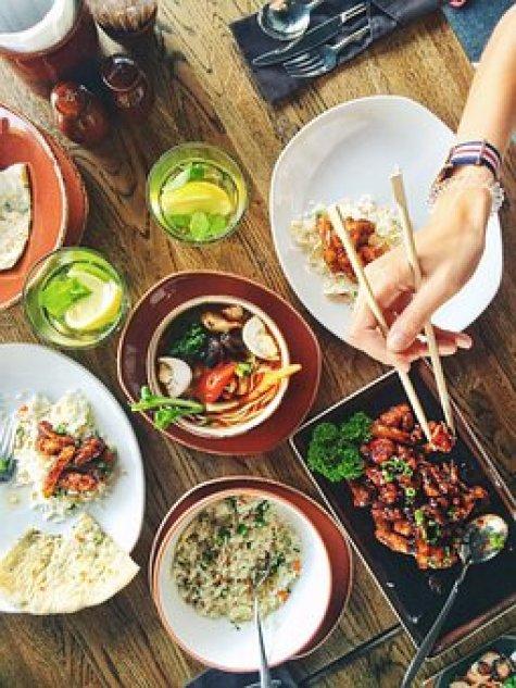 Food, Restaurant, Menu, Asia, Dinner