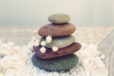 Stones, Meditation, Balance, Relaxation
