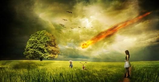Meteorite, Impatto, Cometa, Distruzione