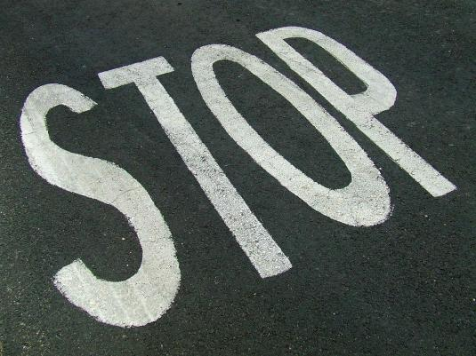停止, 記号, 道路, 一時停止の標識, 警告, 危険, 通り, 安全性, 警告サイン, 禁止, 情報