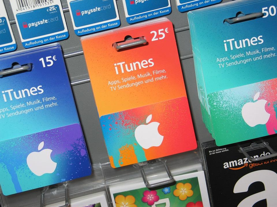 Apple Gift Cards Vouchers Free Photo On Pixabay