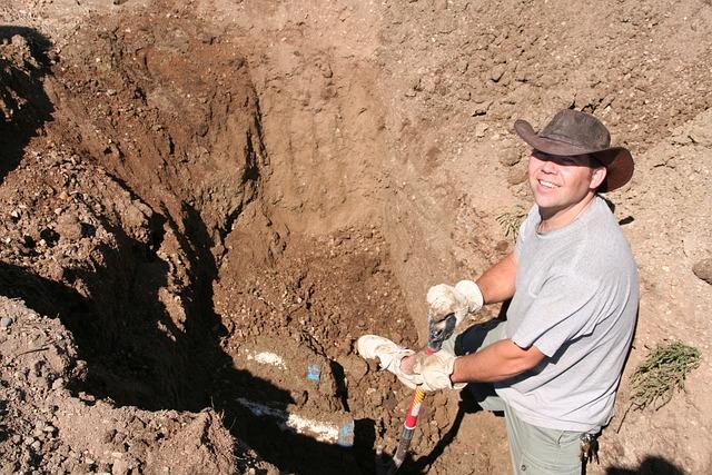 Free Photo Digging Smile Man Person Dig Free Image