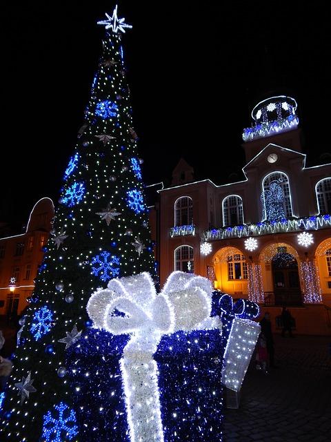 Christmas Tree Free Photo On Pixabay