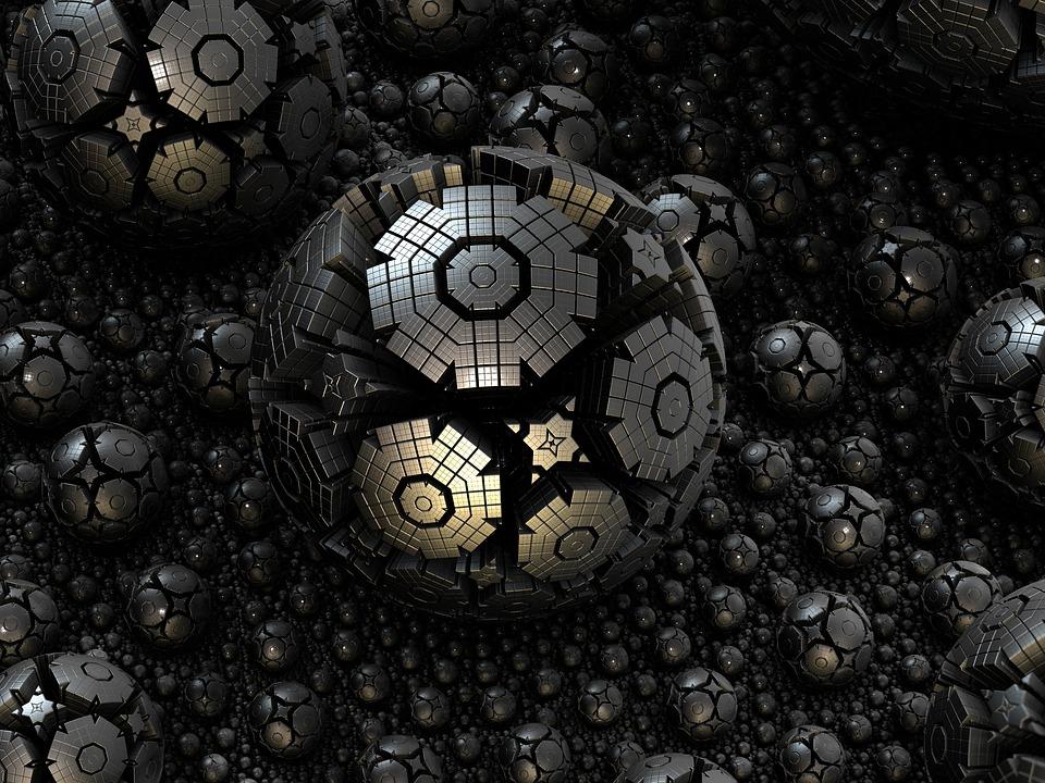 Fractal Sphere Wallpaper