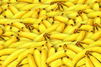 Bananas, Fruit, Yellow, Healthy