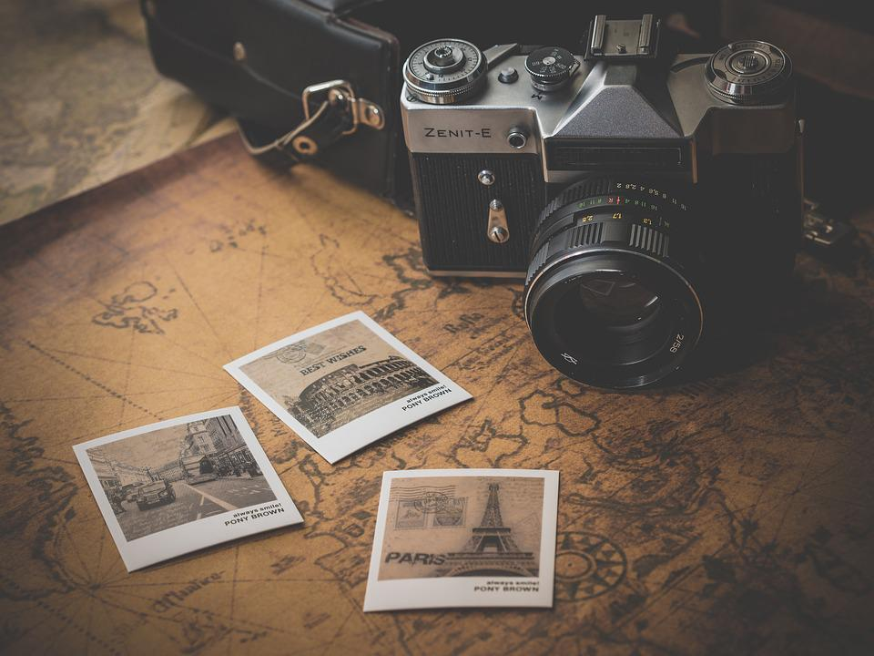 Old, Journey, Adventure, Photo, Map, Retro, Antique