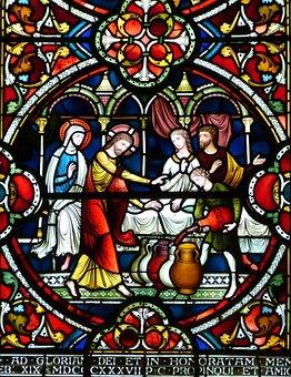 Window, Church Window, Stained Glass