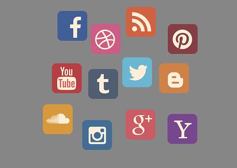 Icon Set, Social Media, Contact, Web