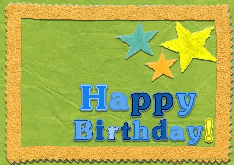 Selamat Ulang Tahun Kartu Template Gambar Gratis Di Pixabay