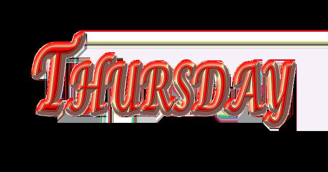 Free Illustration Thursday Weekday Day Free Image On