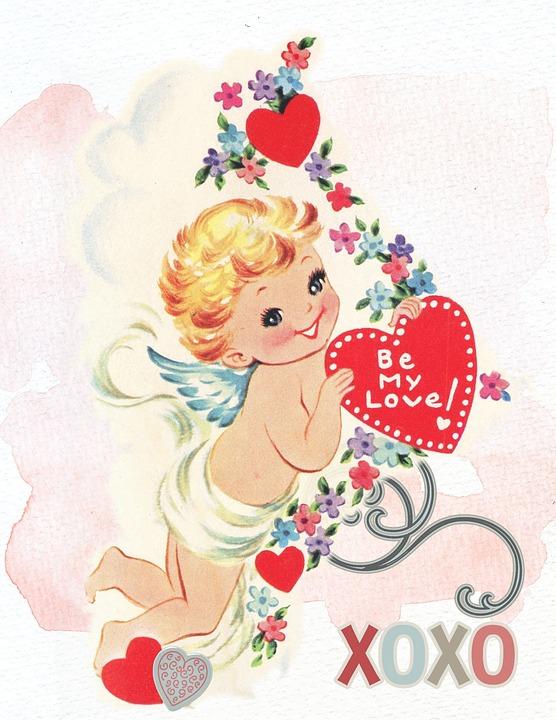 Valentine Cherub Love Free Image On Pixabay