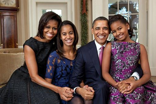 Official Portrait, Obama Family, 2011