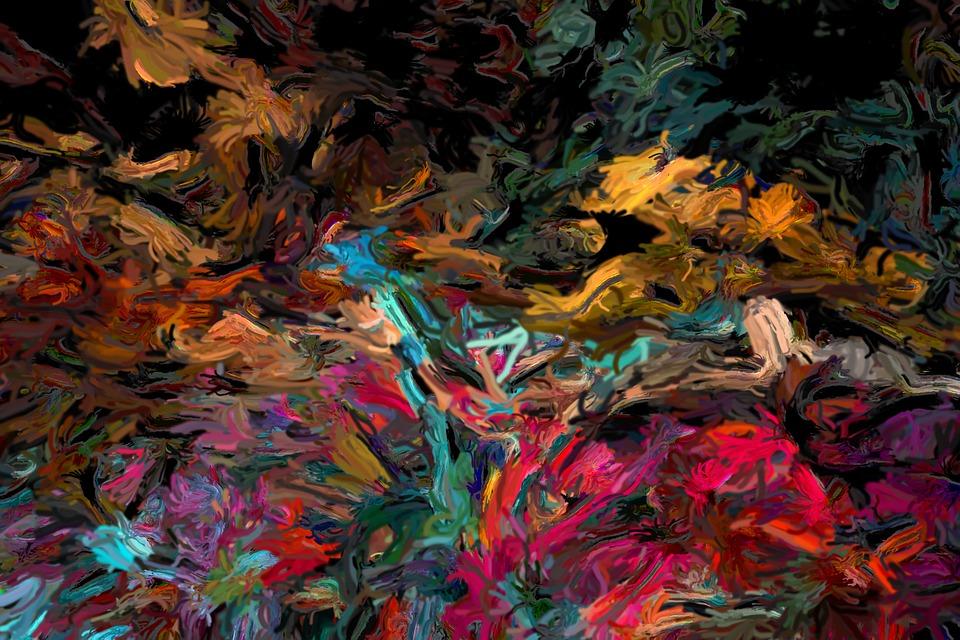 Abstrakt Malen Dragan S Art