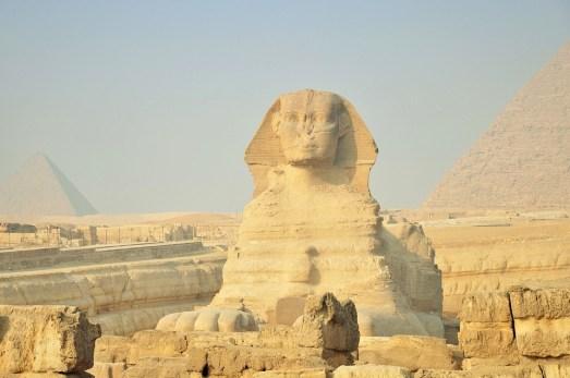 Egipto, Desierto, Templo Egipcio, Giza, Pirámides