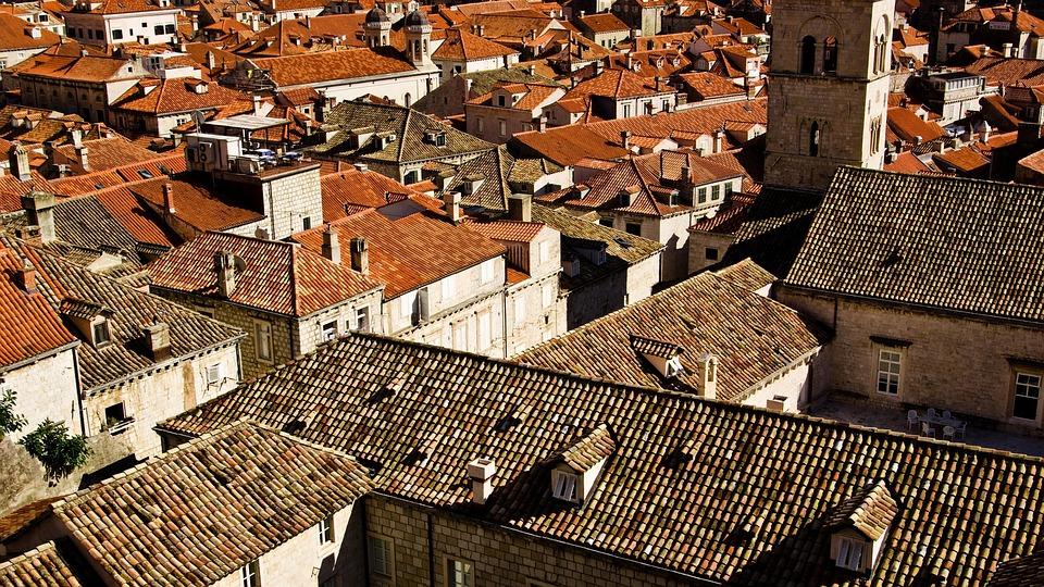Roofs, Orange Roofs, Brown Roofs, Dubrovnik, Croatia