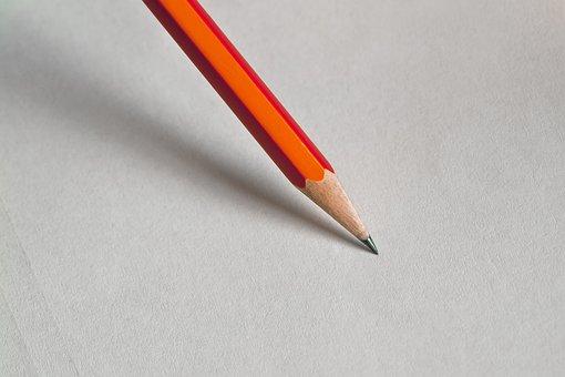 Crayon, Bureau, Design, Créative, Papier