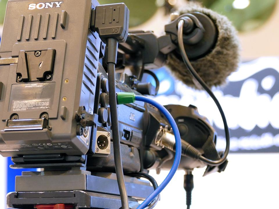 Macchina Fotografica, Tv, Guardare La Tv, Broadcast