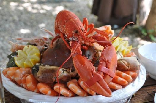 Piatto Di Pesce, Crostacei, Cibo, Frutti Di Mare