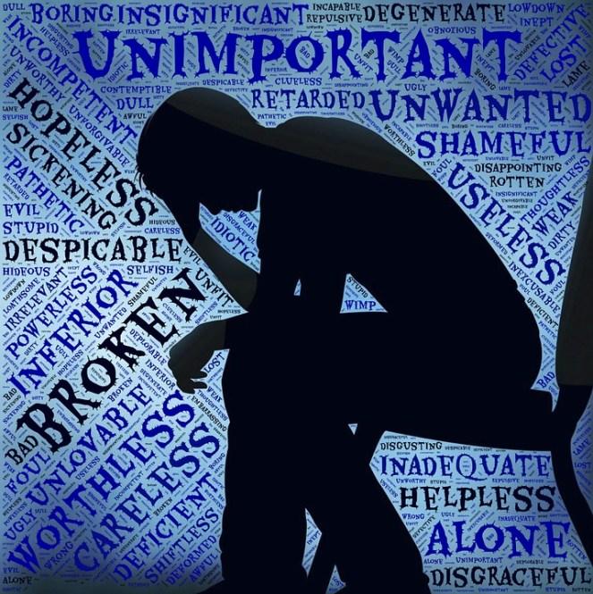 Depressão, Vozes, Autocrítica, Crítico, Para baixo