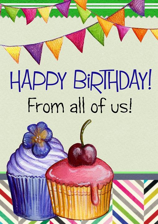 Selamat Ulang Tahun Kartu Ucapan Gambar Gratis Di Pixabay