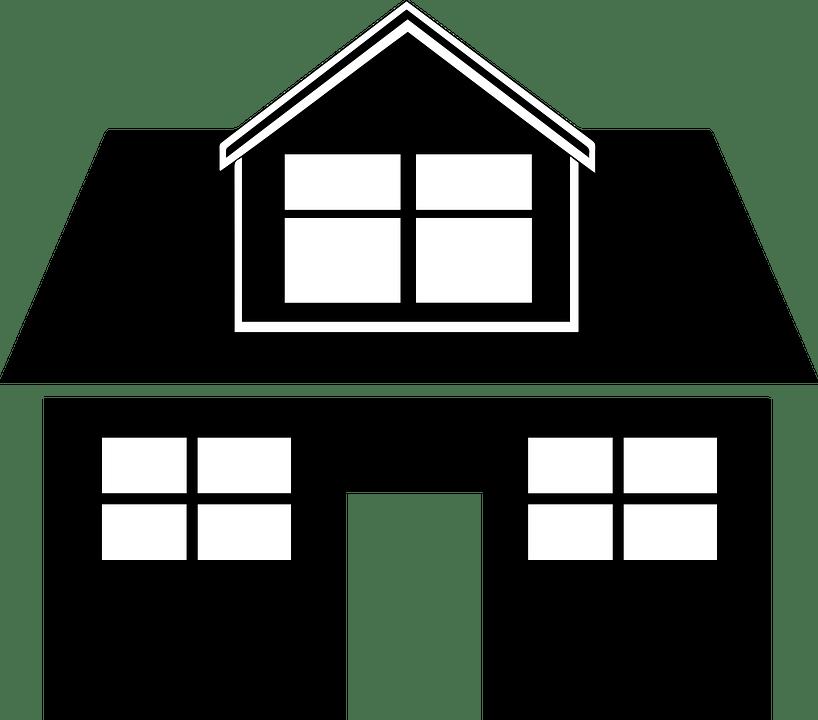 Hitam Rumah Ikon Gambar Vektor Gratis Di Pixabay