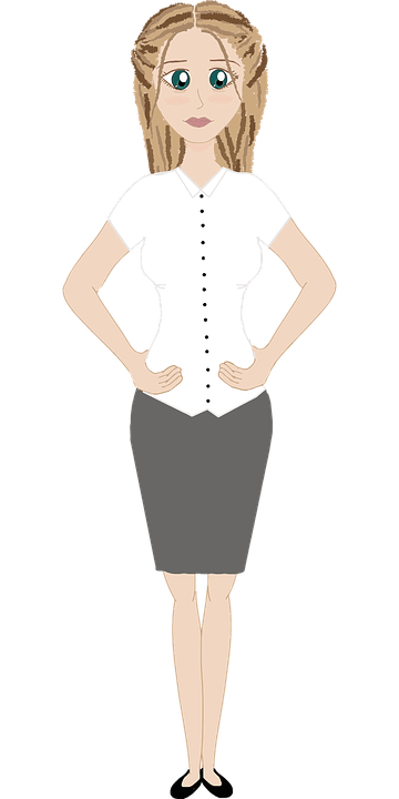 Female Hands On Hips People Free Vector Graphic On Pixabay