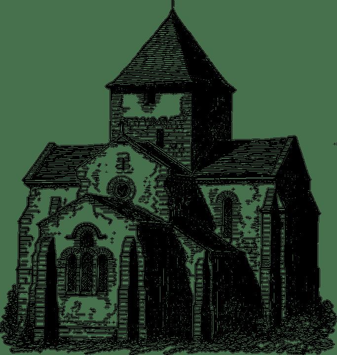 Gebude Christliche Kirche Kostenlose Vektorgrafik Auf