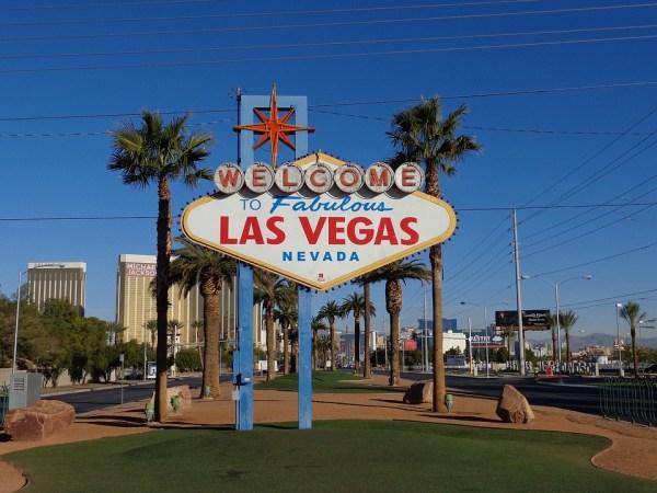 Las Vegas, Inscrivez Vous, Signe De Las Vegas, Usa