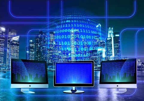 モニター, バイナリ, バイナリ システム, コンピューター, バイナリ コード