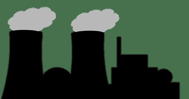 Silueta, Planta De Energía Nuclear