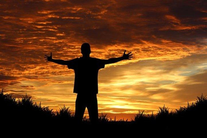 Person Human Joy Sunrise Sunset Sun Orange