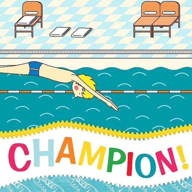 Free Illustration Sport Greeting Card Pool Free Image