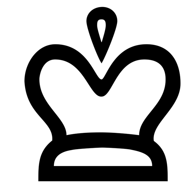 Free Illustration Crown Icon Noble Silhouette Free