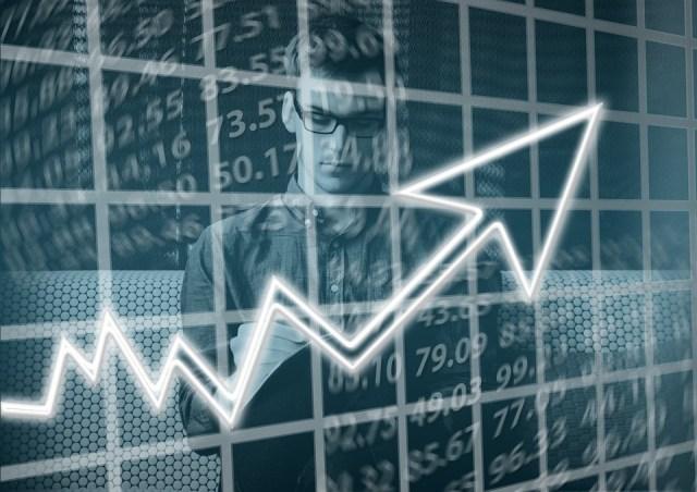 stock market display board