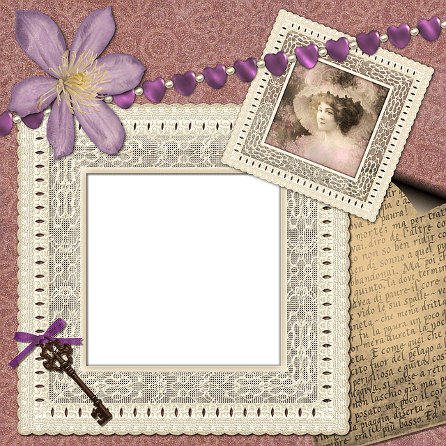 Free Illustration Scrapbook Scrap Background Page