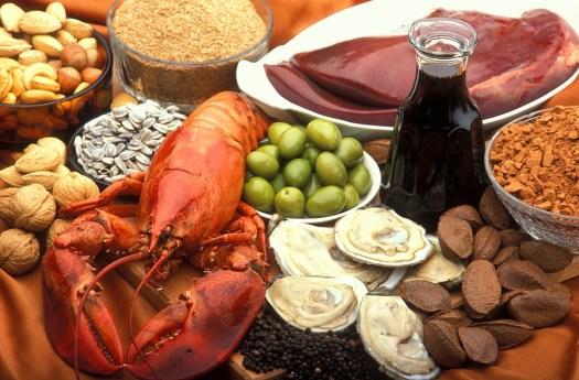 Potenza, Alimenti Ricchi Di Rame, Ostriche, Manzo