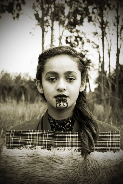 Girl Maori Tradition Free Photo On Pixabay