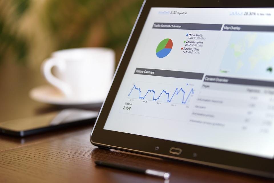 Digital Marketing, Technology, Notebook, Stats